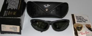Ray Ban W2198 Side Street Skyline Matte Black with G15 lens New Listing